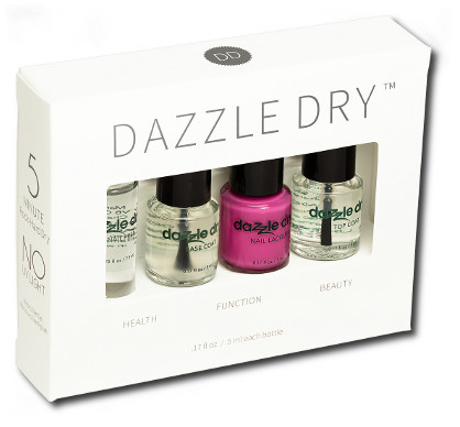 Dazzle Dry trial pack