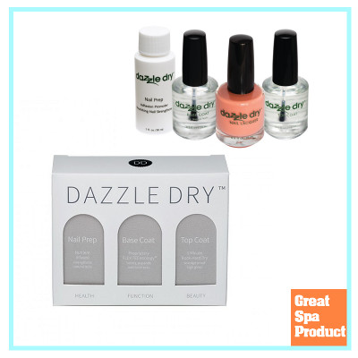 Dazzle Dry great spa product