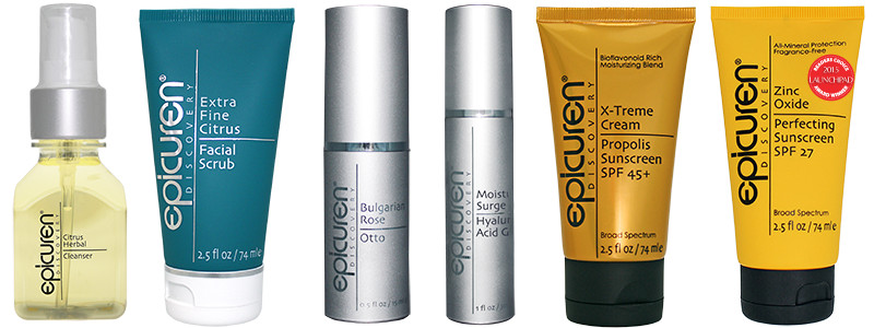epicuren products to help save time with your skincare