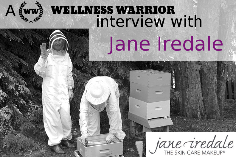 "On Healthy Makeup, Gardening and Creatively ""Accepting Inconvenience:"" An Interview with Jane Iredale and Wellness Warrior"