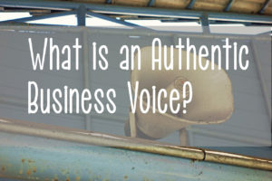 authentic voice