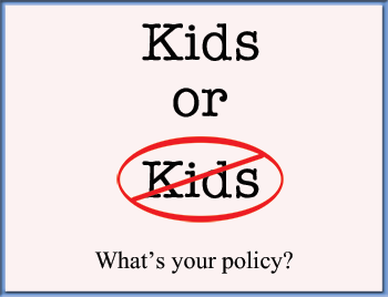 Why Your Salon Or Spa Needs A Children Policy