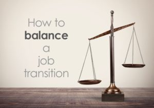 balance job transition scales