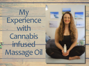 Cannabis infused Massage Oil