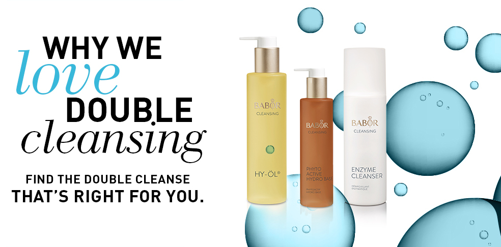 Why We Love Double Cleansing