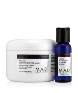 M.A.D. Skincare Jenasus Growth Factor Mask with Multi Plant Stem Booster Serum