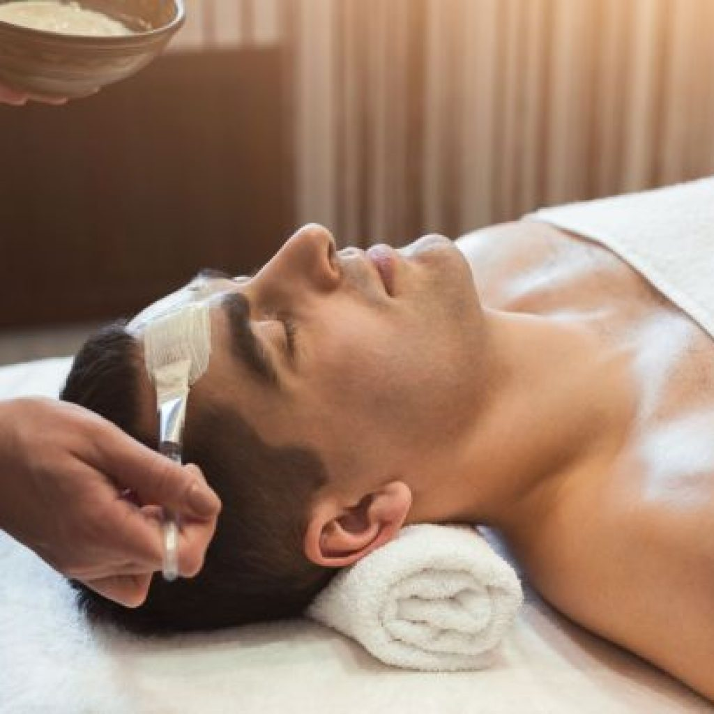 More men are going to spas as males embrace wellness industry