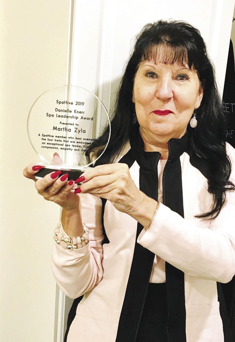 Cascade Spa director earns national award